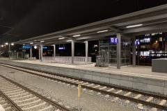 Apple iPhone Xs Max - Aufnahme - Bahnhof bei Nacht