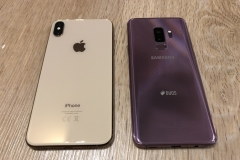 Apple iPhone Xs Max vs. Samsung Galaxy S9+