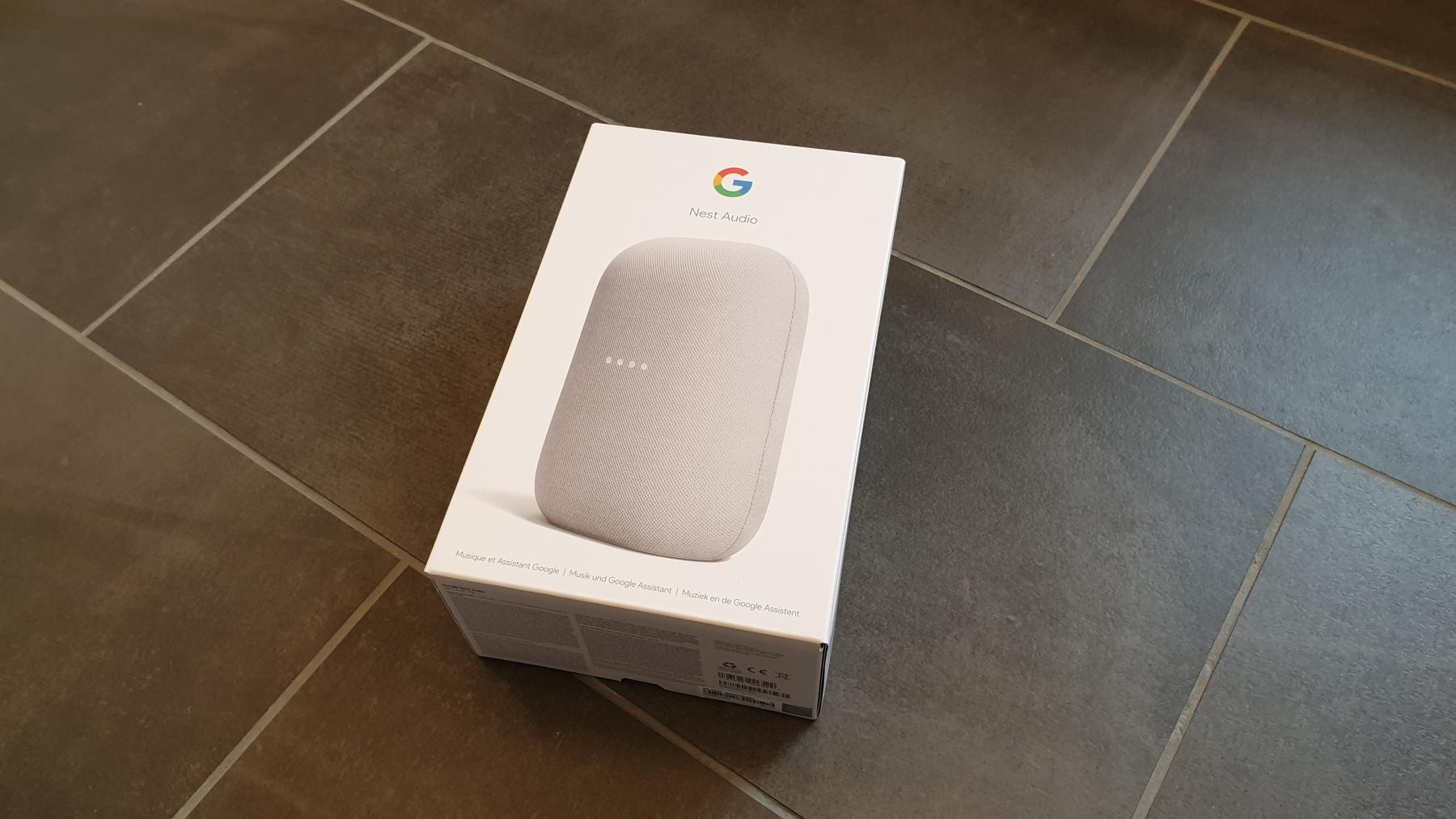 Google Nest Audio - Verpackung