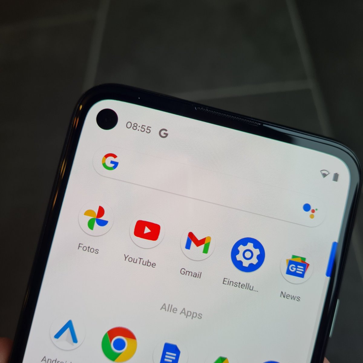 Google Pixel 4a - Punchhole
