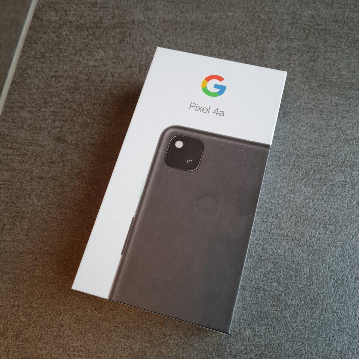 Google Pixel 4a - Verpackung