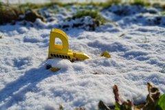 Samsung Galaxy S20 FE - Kamera - Spielzeug im Schnee
