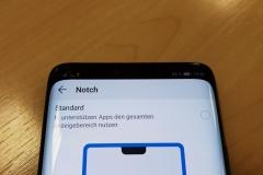 Huawei Mate 20 Pro mit versteckter Notch