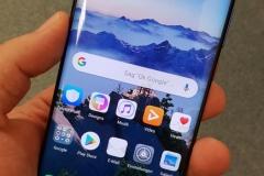 Vorderseite des Huawei Mate 20 Pro