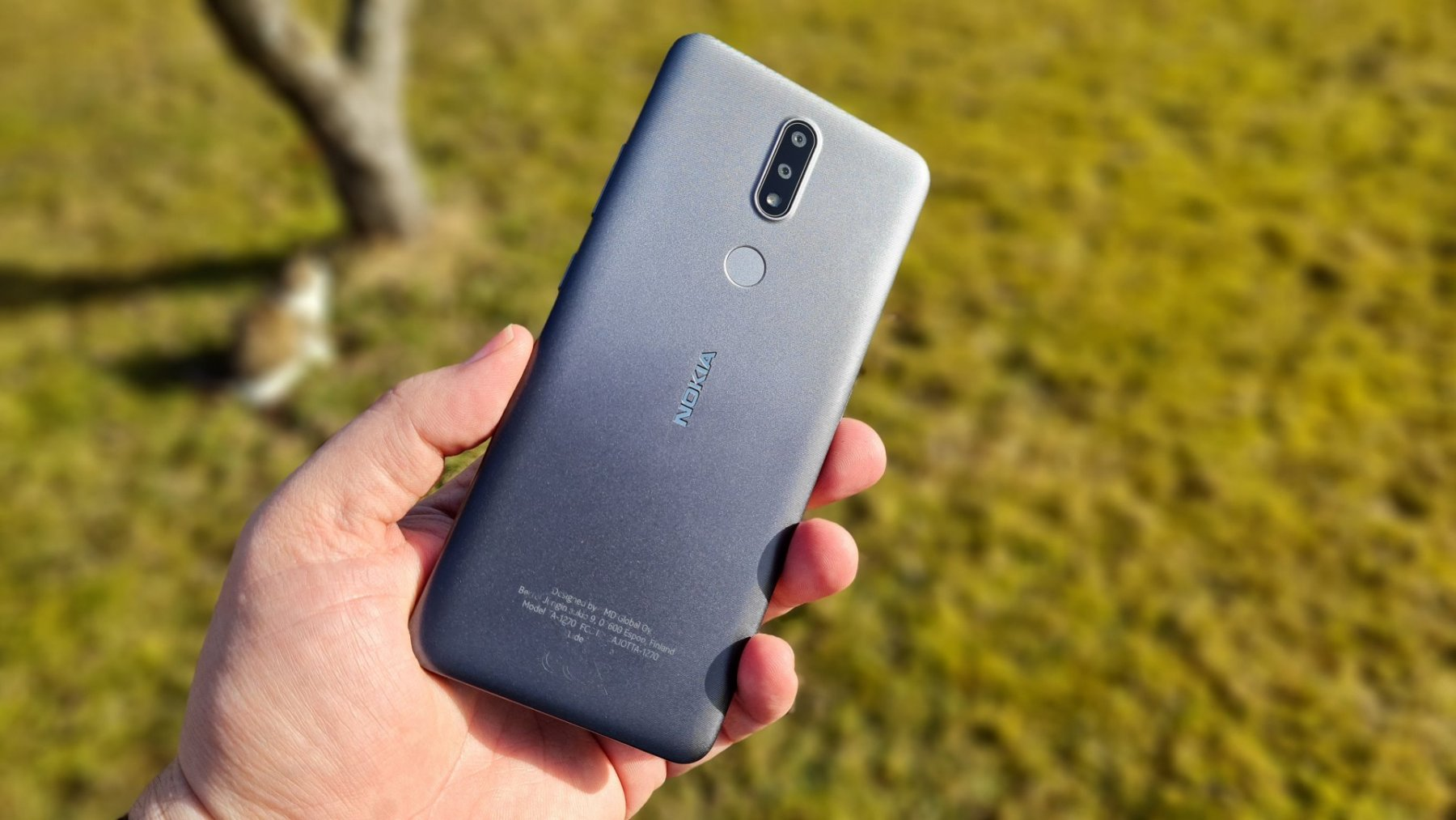 Nokia 2.4 - Rückseite