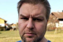 Selfie im Portraitmodus - Nokia 5.4 Frontkamera
