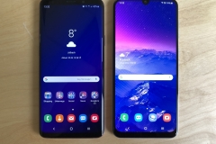 Größenvergleich Samsung Galaxy S9+ vs. Samsung Galaxy A50