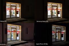 Kameravergleich - Hauseingang