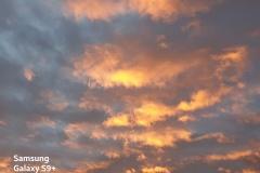 Samsung Galaxy S9+ - Wolken