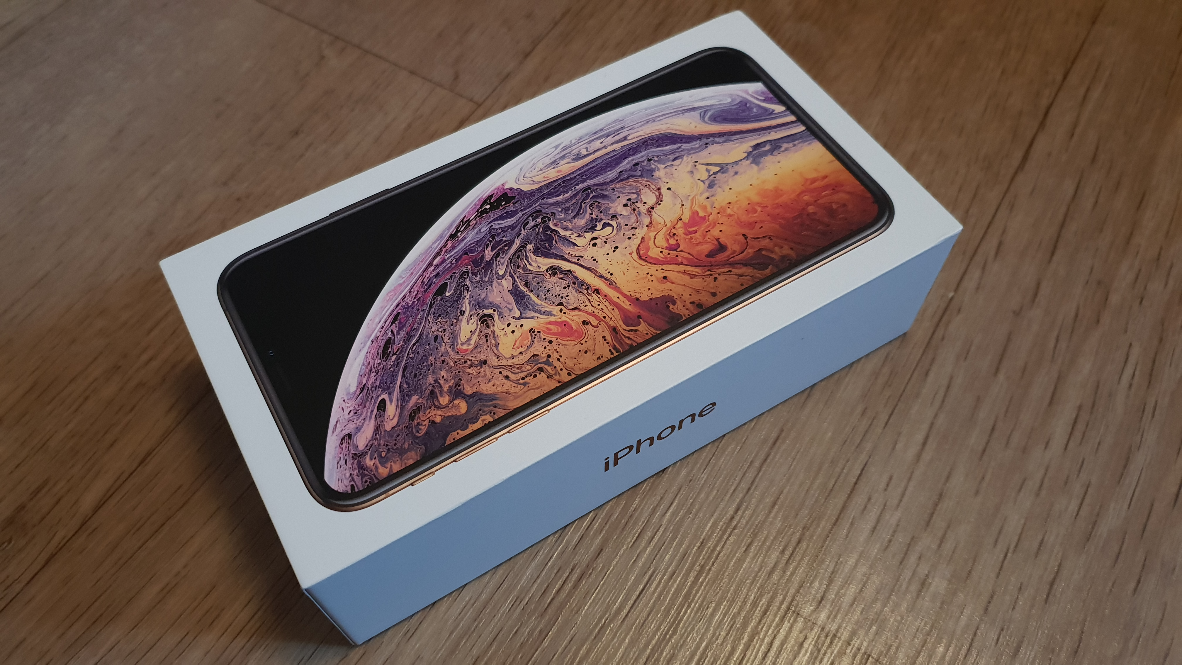 verpackung iphone xs