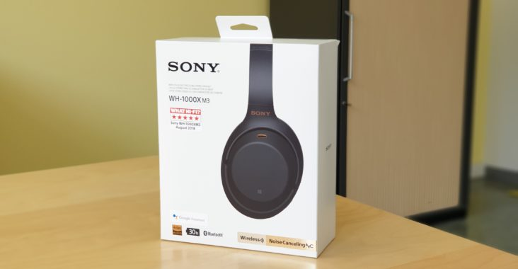 Sony WH-1000XM3 - Verpackung